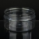 8 oz 89/400 Low Profile Clear PET Jar