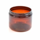 4 oz 58/400 Wide Mouth Amber PET Jar