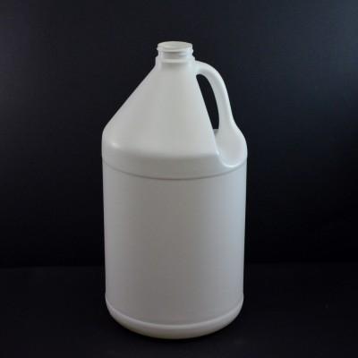 1 Gallon 38/400 White Jug Handle HDPE