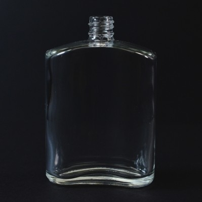 50 ml E4 Bill Oval Clear Glass Bottle