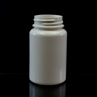 100CC White Nutritional Supplement Packer HDPE 38/400