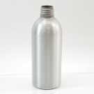 6 oz Brushed Silver 24/410 Aluminum, 53x140 Bottle