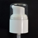24/410 Treatment Pump White with Clear Hood