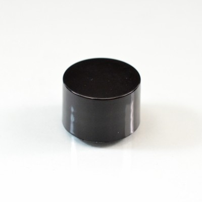 20/410 Black Smooth Straight PP Cap / F217 Liner